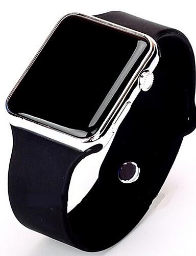 cheap 11-11 Super Sale ★ Fashionable Watches-Men's Sport Watch Digital Watch Digital Silicone Black / White Casual Watch Digital Minimalist - Gold / White Black / Rose Gold / Stainless Steel