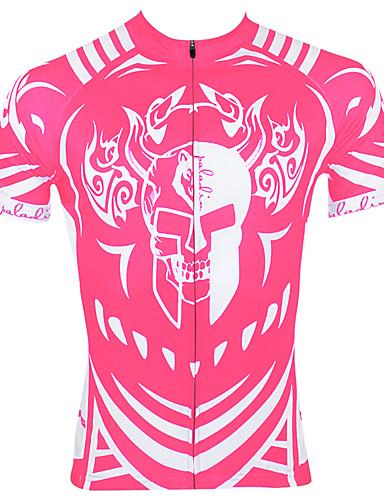 povoljno Odjeća za vožnju biciklom-ILPALADINO Muškarci Kratkih rukava Biciklistička majica Crn purpurna boja Blushing Pink Dungi Bicikl Biciklistička majica Majice Brdski biciklizam biciklom na cesti Prozračnost Quick dry Ultraviolet