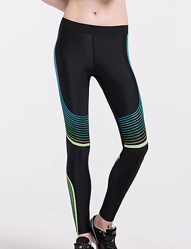 povoljno Vježbanje, fitness i joga-Žene Hlače za jogu 3D ispis Trčanje Fitness Trening u teretani Biciklizam Hulahopke Odjeća za rekreaciju Prozračnost Ovlaživanje Quick dry Butt Lift Visoka elastičnost Uske