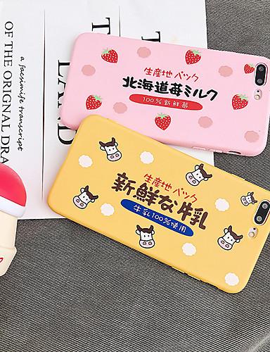 Capinha Para Apple iPhone XS / iPhone XR / iPhone XS Max Anti-poeira / Estampada Capa traseira Desenho Animado TPU