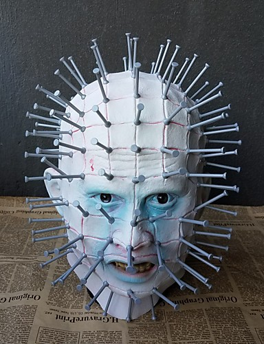 preiswerte Mundmaske für Frauen-Maske Halloween-Maske Inspiriert von Gruseliger Film Weiß Halloween Karneval Erwachsene Herrn Damen