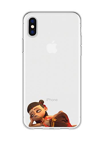 Capinha Para Apple iPhone XS / iPhone XR / iPhone XS Max Estampada Capa traseira Desenho Animado TPU