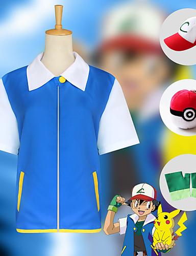 povoljno Anime cosplay-Inspirirana Pocket Little Monster Cosplay Anime Cosplay nošnje Japanski Cosplay Suits Top / Rukavice / Šešir Za Muškarci