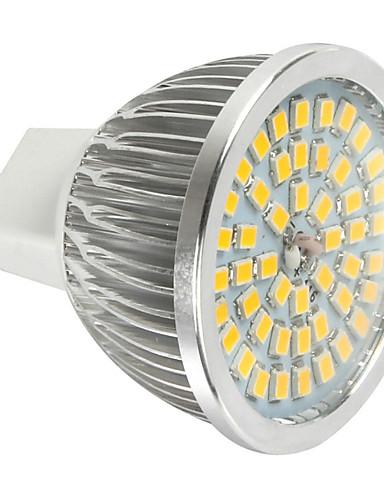 preiswerte Dekorative Beleuchtung-1pc 6 W LED Spot Lampen 600 lm MR16 48 LED-Perlen SMD 2835 Dekorativ Kühles Weiß 12 V