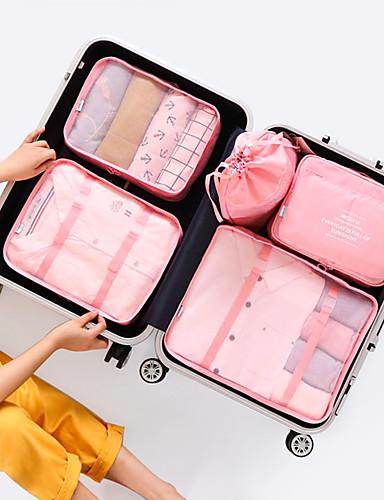 preiswerte Reise-Reisetasche / Reisekoffersystem / Einkaufstaschen & Kosmetiktaschen Multifunktions / Hohe Kapazität / Atmungsaktiv Für den täglichen Einsatz / Transportabel / Klappbar Stoff / Terylen / Netz Outdoor