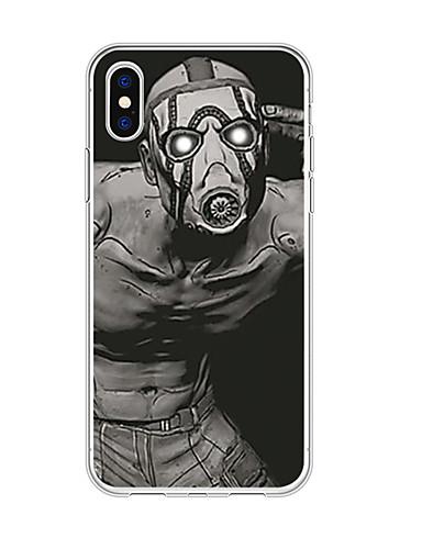 Capinha Para Apple iPhone XS / iPhone XR / iPhone XS Max Estampada Capa traseira Desenhos 3D TPU