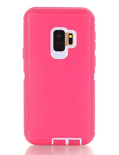 Capinha Para Samsung Galaxy S9 Plus Antichoque / Anti-poeira Capa traseira Sólido TPU