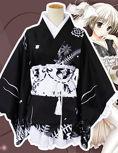 povoljno Maske i kostimi-Inspirirana Yosuga no Sora Kasugano Sora Anime Cosplay nošnje Japanski Cosplay Suits Okovratnik / Pojas / Luk Za Žene