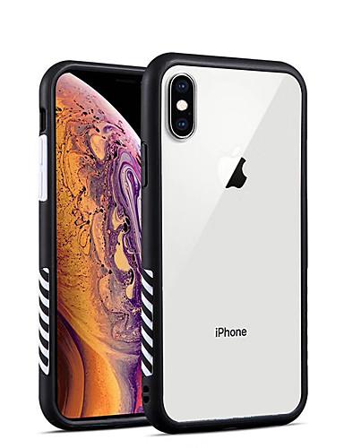 Capinha Para Apple iPhone XS / iPhone XR / iPhone XS Max Antichoque / Transparente Capa traseira Transparente TPU / Acrílico
