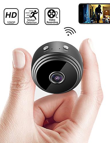 billige IP-kameraer-a9 ip kamera sikkerhet kamera mini kamera dv wifi mikro lite kamera videokamera videoopptaker utendørs nattversjon hjemmeovervåking hd trådløs fjernovervåkning telefon os android app 1080p