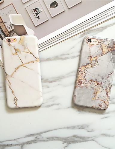 Caso para apple iphone xs max / iphone 8 além de poeira / imd tampa traseira de mármore macio tpu para iphone 7/7 plus / 8/6/6 plus / xr / x / xs