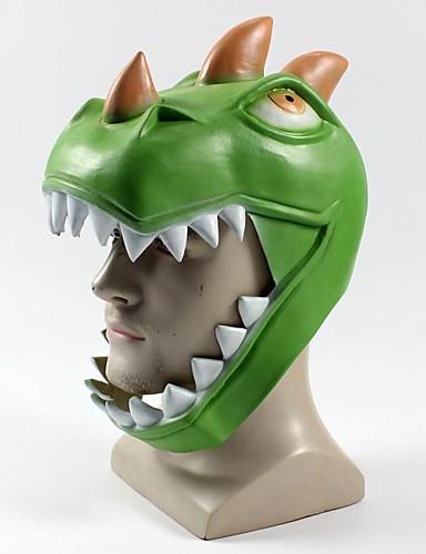 preiswerte Mundmaske für Frauen-Maske Halloween-Maske Inspiriert von Grün Erwachsene Herrn Damen