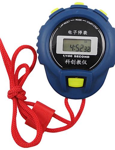 Homens Mulheres Relógio Esportivo Cronômetro Digital Preta / Vermelho Não Cronógrafo Luminoso Novo Design Digital Ao ar Livre Nova chegada - Azul Claro Branco Azul Um ano Ciclo de Vida da Bateria
