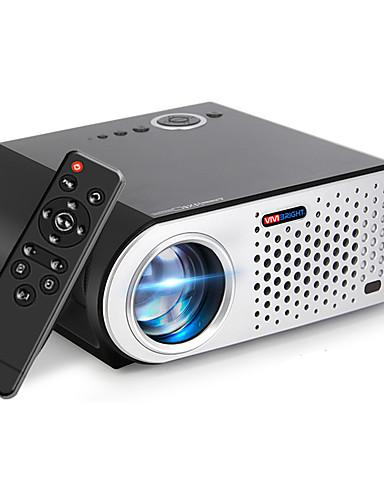 preiswerte Audio & Video-LCD LED Projektor 3200 lm Unterstützung 4K 35-280 Zoll / WXGA (1280x800) / ±15°