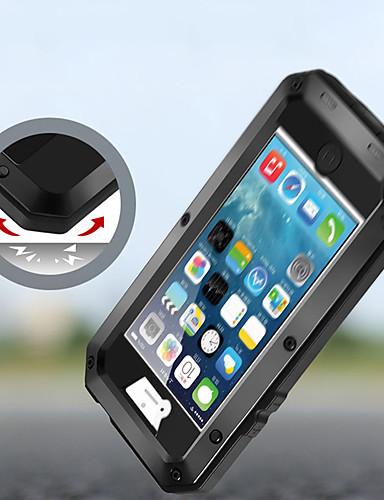 caso para apple iphone xs / iphone xr / iphone xs max / 7 8 plus / 6splus / 6 à prova de choque / poeira / resistente à água casos de corpo inteiro armadura de metal