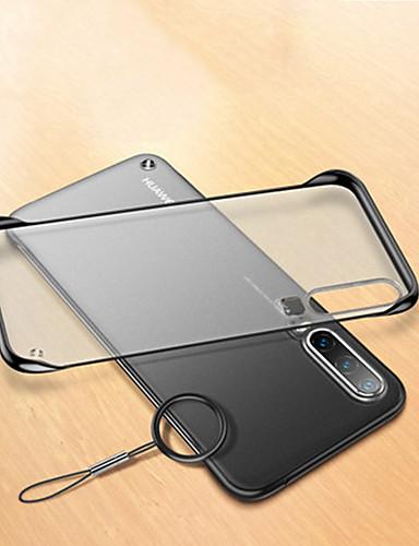 Capinha Para Huawei Huawei P20 / Huawei P20 Pro / Huawei P20 lite Antichoque / Áspero / Transparente Capa traseira Transparente PC