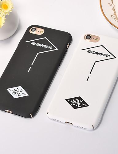 Capinha Para Apple iPhone XS / iPhone XR / iPhone XS Max Anti-poeira / Estampada Capa Proteção Completa Palavra / Frase PC