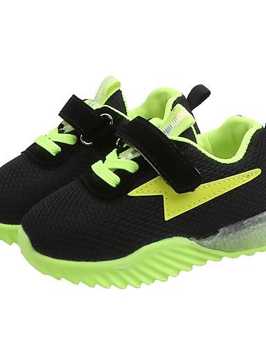 preiswerte Neon-Jungen / Mädchen Leuchtende LED-Schuhe Gitter Sportschuhe Kleine Kinder (4-7 Jahre) Orange / Grün / Rosa Sommer