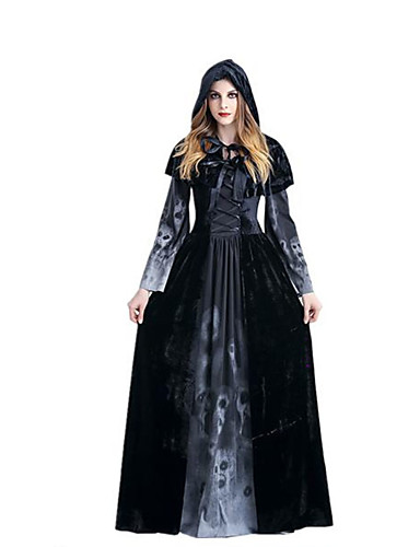 povoljno Anime cosplay-Inspirirana Rosario and Vampire Vampire Dracula Anime Cosplay nošnje Japanski Dresses Haljina / Shawl Za Žene