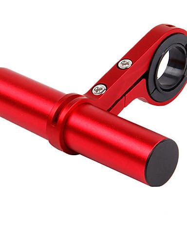 povoljno Ručke i lule volana-Produživač ručke za bicikl Držač za svjetiljku Prilagodljivo Mala težina Rugalmas za Cestovni bicikl Mountain Bike Rekreativna vožnja biciklom Aluminum Alloy Crn Plava Red