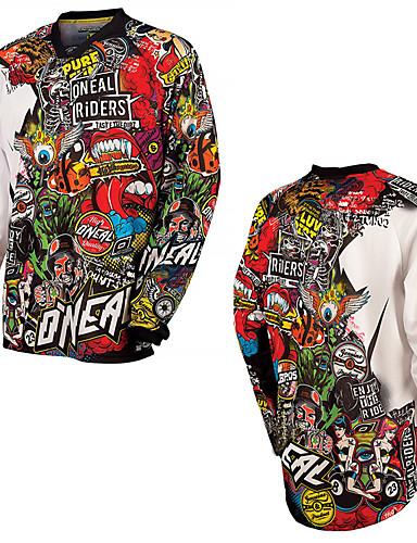billige Bestselgende kjøretøyprodukter-ny sommer doodle stil motorsykkel hurtigtørkende t-skjorte off-road hd utforkjøring terrengsykkel off-road utendørs sport t-skjorte fukttransport