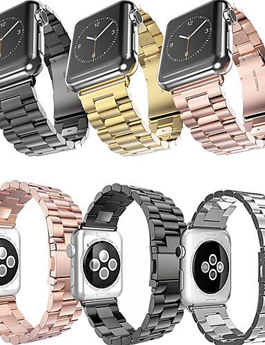 Pulseiras de Relógio para Apple Watch Series 5/4/3/2/1 / Apple Watch Series 4 Apple Modelo da Bijuteria Aço Inoxidável Tira de Pulso