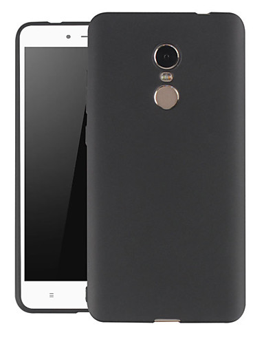 Capinha Para Xiaomi Xiaomi Redmi Note 5 / Xiaomi Redmi Note 4X Anti-poeira / Ultra-Fina / Áspero Capa traseira Sólido TPU