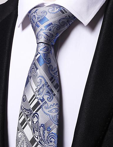 cheap Men's Ties & Bow Ties-Men's Party / Work Necktie - Striped / Jacquard