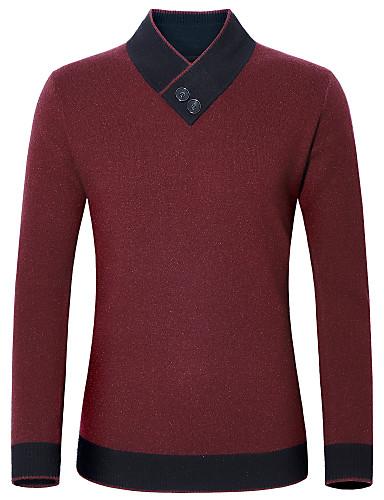 Compra mens gruesos suéteres online al por mayor de China