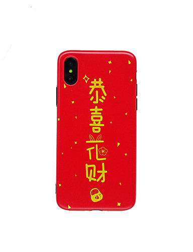 5 99 Case For Apple Iphone Xs Iphone Xr Iphone Xs Max Imd Ultra Thin Pattern Back Cover Word Phrase Tpu