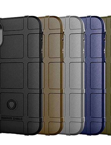 case para apple iphone xs / iphone xr / iphone xs max cobertura à prova de choque armadura tpu