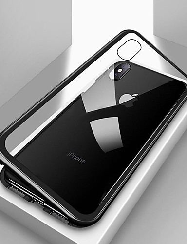 Capinha Para Samsung Galaxy S7 edge / S7 Magnética Capa traseira Sólido Vidro Temperado
