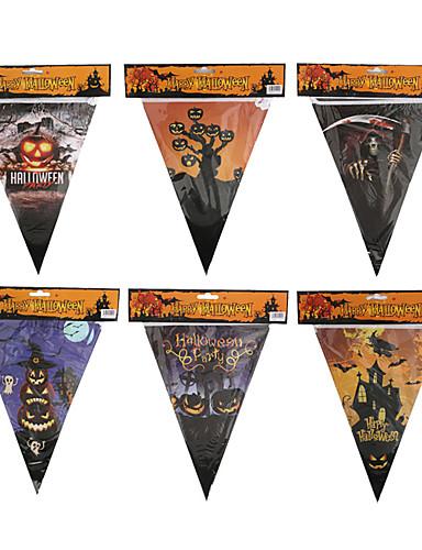preiswerte Partyzubehör-Halloween / Festival Party Zubehör Banner & Läufer Gemustert Reines Papier Klassisch / Kreativ / rustikales Theme