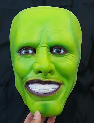 preiswerte Mundmaske für Frauen-Maske Halloween-Maske Inspiriert von Gruseliger Film Grün Halloween Karneval Erwachsene Herrn Damen
