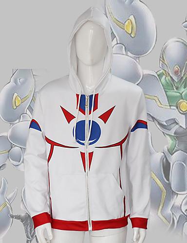 preiswerte Tägliche Cosplay Kostüme-Cosplay Duel Monsters Cosplay Kapuzenshirt Polyester / Baumwolle 3D Für Herrn / Damen