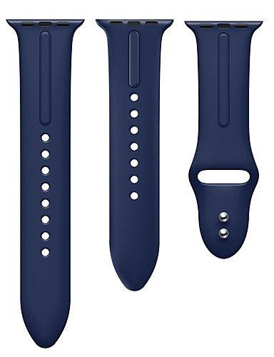 Pulseiras de Relógio para Apple Watch Series 5/4/3/2/1 / Apple Watch Series 4 Apple Pulseira Esportiva Silicone Tira de Pulso