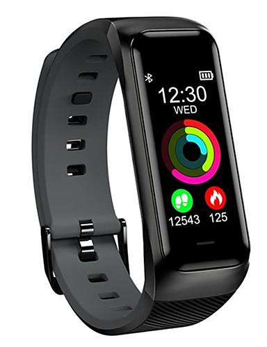 Relógio inteligente Digital Estilo Moderno Esportivo Silicone 30 m Impermeável Monitor de Batimento Cardíaco Bluetooth Digital Casual Ao ar Livre - Preto Verde Laranja