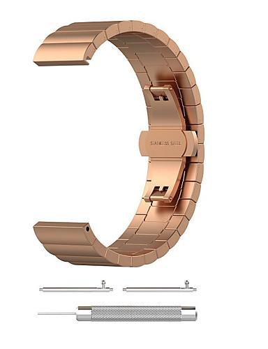 Pulseiras de Relógio para Vivofit 3 Garmin Modelo da Bijuteria Aço Inoxidável Tira de Pulso