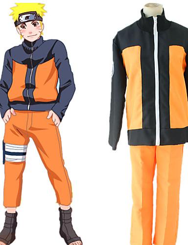 povoljno Maske i kostimi-Inspirirana Naruto Cookie Anime Anime Cosplay nošnje Japanski Cosplay Suits Top / Hlače Za Muškarci / Žene
