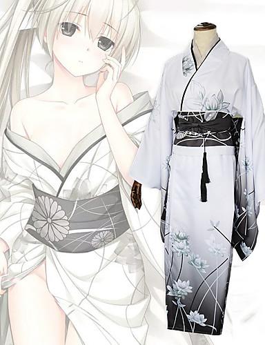 povoljno Anime cosplay-Inspirirana Yosuga no Sora Kasugano Sora Anime Cosplay nošnje Japanski Cosplay Suits / Kimono Hula-hopke / Onesie / Korzeti / Luk Za Žene / Šeširi / Traka / vrpca