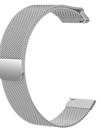 Pulseiras de Relógio para Huawei Assista GT Huawei Pulseira Estilo Milanês Aço Inoxidável Tira de Pulso