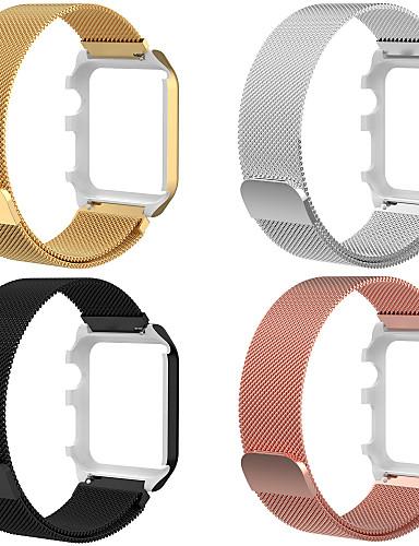 Pulseiras de Relógio para Apple Watch Series 4 / Apple Watch Series 4/3/2/1 Apple Pulseira Estilo Milanês Aço Inoxidável Tira de Pulso