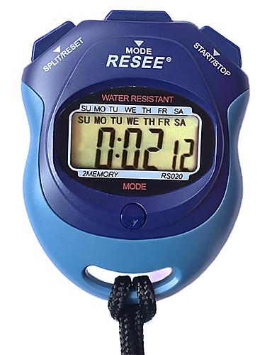 Homens Mulheres Relógio Esportivo Cronômetro Japanês Digital Preta 30 m Luminoso Novo Design Relogio Despertador Digital Ao ar Livre Nova chegada - Azul Dois anos Ciclo de Vida da Bateria