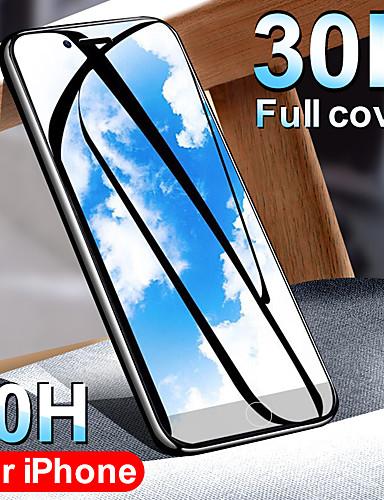 30d cobertura completa borda de vidro temperado para iphone 6 6 s 7 8 plus protetor de tela de vidro no x xr xs max 8 7 além de película protetora