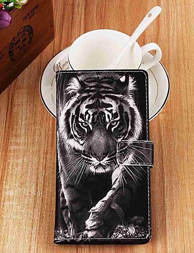 Capinha Para Apple iPhone XS / iPhone XR / iPhone XS Max Carteira / Porta-Cartão / Com Suporte Capa Proteção Completa Animal PU Leather