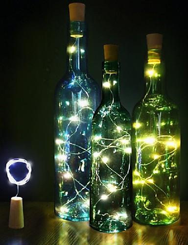preiswerte Hochzeiten & Feste-LED Licht Kunststoff Hochzeits-Dekorationen Weihnachten / Party Weihnachten / Hochzeit Ganzjährig