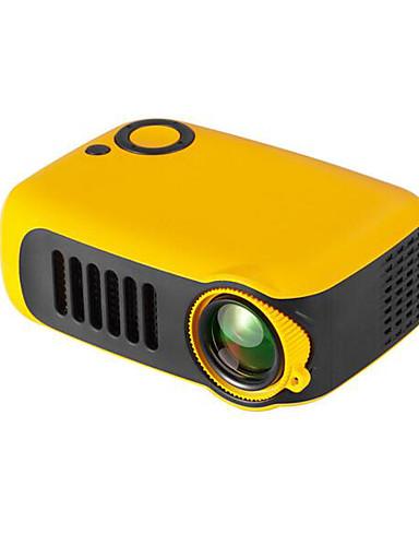 preiswerte Audio & Video für Ihr Zuhause-Mini tragbarer Projektor 800 Lumen unterstützt 1080p LCD 50000 Stunden Lampenlebensdauer Heimkino-Videoprojektor