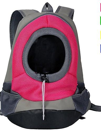 preiswerte Spielzeug & Hobby Artikel-Katze Hund Transportbehälter &Rucksäcke Nylon Haustiere Körbe Solide Tragbar Atmungsaktiv Gelb Grün Rot