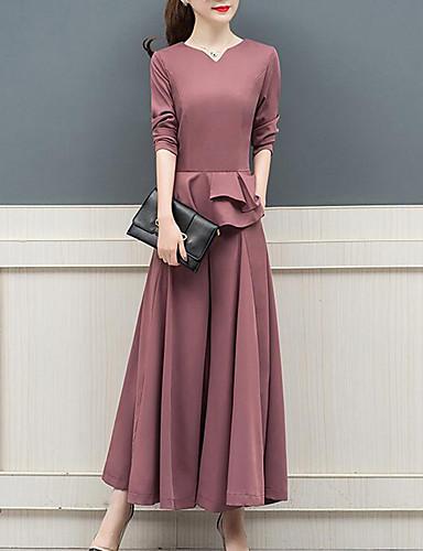 billige Todelt dress til damer-Dame Gatemote Sett Bukse Bokstaver