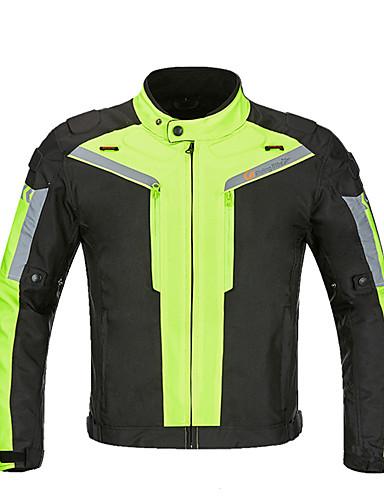 povoljno Odjeća za vožnju biciklom-SRATE Muškarci Biciklistička jakna Bicikl Zimska jakna Odjeća za motocikle Majice Ugrijati Vjetronepropusnost Quick dry Sportski Zima Crn / Siva + bijela / Zelen Brdski biciklizam biciklom na cesti